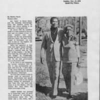 "1978-11-12 Article: """"My Nephew, The Opera Star"""" Page 1"