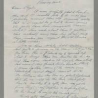 1943-11-12 Bill Behrens to Lloyd Davis Page 1
