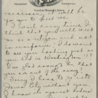 1919-04-14 Daphne Reynolds to Conger Reynolds Page 3