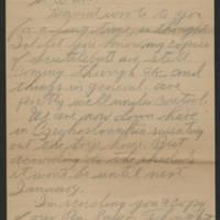 1945-07-24 Pfc. Raymond L. Burham to Dave Elder Page 1