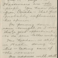 1918-04-30 W.L. Ketcham to Conger Reynolds Page 3