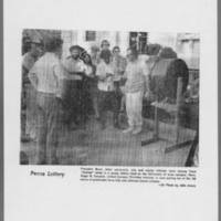 "1971-08-06 Daily Iowan Photo: """"Peace Lottery"""""