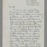 1942-11-10 Laura Davis to Lloyd Davis Page 1