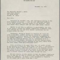 1971-12-15 Gordon M. Lane to The Honorable Wilson L. Davis Page 1