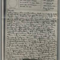 1943-05-28 Laura Davis to Lloyd Davis