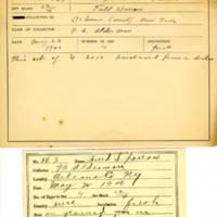 Thomas Wilmer Dewing, egg card # 724u