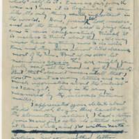 1917-10-02 Robert M. Browning to Mavel C. Williams Page 2