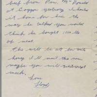 1942-01-15 Lloyd Davis to Laura Davis Page 3