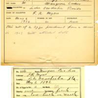 Thomas Wilmer Dewing, egg card # 269