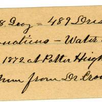 Clinton Mellen Jones, egg card # 187