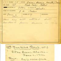 Thomas Wilmer Dewing, egg card # 641u