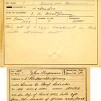 Thomas Wilmer Dewing, egg card # 089