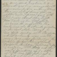 1917-09-25 Harvey Wertz to Mr. L.A. Wertz Page 2