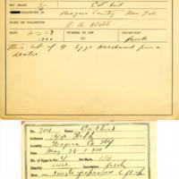 Thomas Wilmer Dewing, egg card # 799u