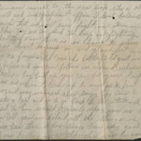 1918-10-06 Harvey Wertz to Mr. L.A. Wertz Page 2