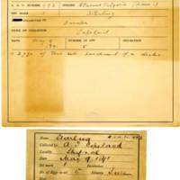 Thomas Wilmer Dewing, egg card # 398