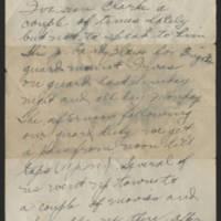 1918-03-06 Thomas Messenger to Vera Wade Page 2