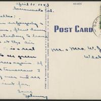 1943-04-15 Postcard - back