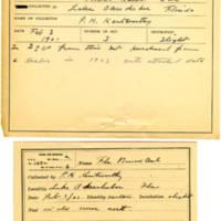 Thomas Wilmer Dewing, egg card # 248