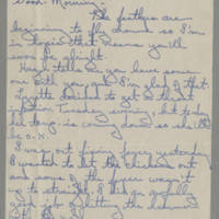 1945-03-22 Irene to Laura Frances Davis Page 1