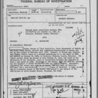 Edna Griffin's FBI file, December 1951-February 1955