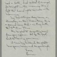 1945-08-01 Laura Davis to Lloyd Davis Page 2