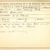 Thomas Wilmer Dewing, egg card # 038
