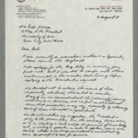 1970-08-10 Tim Gardner to Mr. Robert Engel Page 1