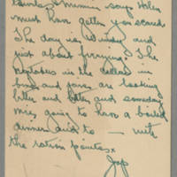 Bess Peebles Fox letters to her daughter, 1943-1945