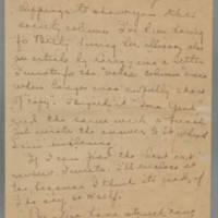 1919-11-12 Daphne Reynolds to Mary Goodenough Page 1