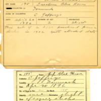 Thomas Wilmer Dewing, egg card # 142