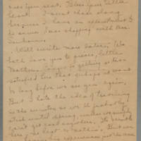 1919-11-12 Daphne Reynolds to Mary Goodenough Page 3