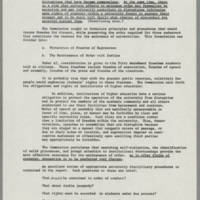 """1970-06-03 Report: """"""""Campus Tensions -- A Report on Iowa and Elsewhere"""""""" Page 5"""