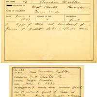 Thomas Wilmer Dewing, egg card # 550