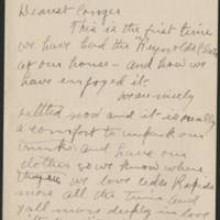 1918-09-21 Ernest Reynolds to Conger Reynolds Page 1