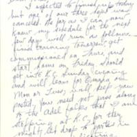 Nile Kinnick correspondence, September-November 1942