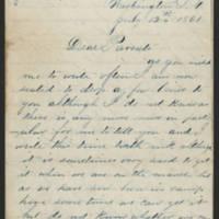 1861-07-12 William E. Thorpe to Alfred Thorpe Page 1