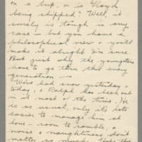1942-12-09 Grettings - Freda Caldwell to Laura Frances Caldwell Page 2