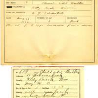 Thomas Wilmer Dewing, egg card # 530