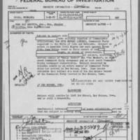 1952-01-22 Omaha Field Office report regarding Edna May Griffin Page 1