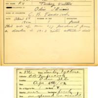 Thomas Wilmer Dewing, egg card # 212