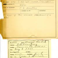 Thomas Wilmer Dewing, egg card # 669u