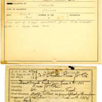 Thomas Wilmer Dewing, egg card # 374