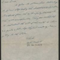 1945-09-07 Pfc. Bill Crandall to Dave Elder