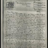 1944-06-21 M/Sgt. John W. Graham to Mr. & Mrs. W.J. Graham Page 1