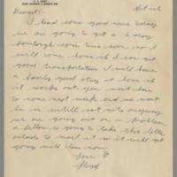 1942-11-15 Lloyd Davis to Laura Davis