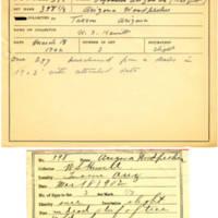 Thomas Wilmer Dewing, egg card # 287