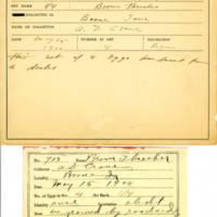 Thomas Wilmer Dewing, egg card # 802u