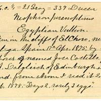 Clinton Mellen Jones, egg card # 141