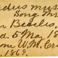 Clinton Mellen Jones, egg card # 341